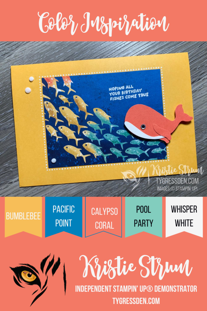 Color Inspiration - Birthday Fishes