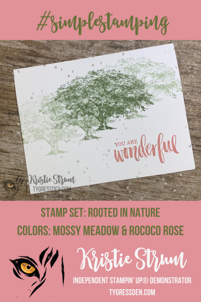 Simple Stamping Rooted in Nature