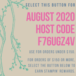 August 2020 Host Code